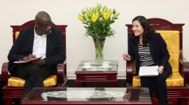 Thứ trưởng Nguyễn Thị Hà đề nghị UNICEF tiếp tục hỗ trợ Việt Nam về tài chính và mạng lưới dịch vụ gia đình