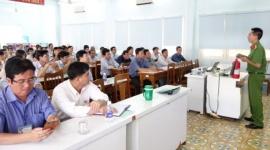 Ninh Thuận: Nhiều hoạt động thiết thực hưởng ứng Tháng Hành động An toàn vệ sinh lao động lần thứ hai