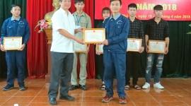 6 thí sinh đạt giải nhất tại Kỳ thi tay nghề tỉnh Phú Thọ năm 2018