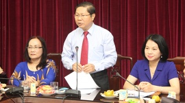 Thứ trưởng Lê Tấn Dũng tiếp thân mật đoàn đại biểu người có công Khánh Hòa và Nghệ An