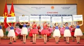 Toàn quốc đồng loạt triển khai nhiều hoạt động hưởng ứng Tháng Hành động vì trẻ em năm 2018