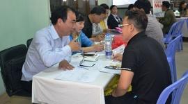 TPHCM: Khai mạc sàn giao dịch việc làm lưu động lần 3 tại quận 4