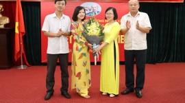 Chi bộ Tạp chí Lao động và Xã hội kết nạp đảng viên mới nhân dịp kỷ niệm 93 năm Ngày Báo chí cách mạng Việt Nam