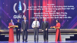 105 tác phẩm được vinh danh tại Lễ trao giải Báo chí Quốc gia năm 2017