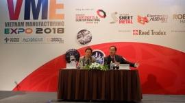 Triển lãm Vietnam Manufacturing Expo 2018 giới thiệu các công nghệ và giải pháp sản xuất mới