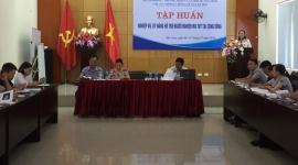 Quảng Ninh: Tập huấn nghiệp vụ, kỹ năng hỗ trợ người nghiện ma túy tại cộng đồng năm 2018