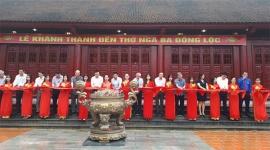 Khánh thành Đền thờ Ngã ba Đồng Lộc