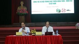 Việt Nam rất cần phát triển nghề công tác xã hội trong nông thôn - miền núi