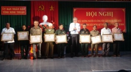 Ninh Thuận: Biểu dương người có công với cách mạng tiêu biểu và phát động xây dựng Quỹ Đền ơn đáp nghĩa năm 2018