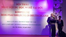 Tập đoàn Vicky tổ chức Ngày hội du học nghề tại Đức