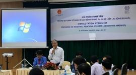 Lấy ý kiến về tham vấn những quy định trong dự án Bộ luật Lao động (sửa đổi) khu vực phía Nam