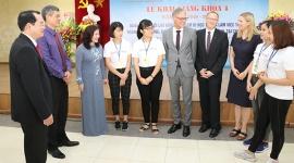 404 học viên hân hoan chào đón Lễ khai giảng khóa 4 ngành điều dưỡng, chăm sóc người già tại CHLB Đức