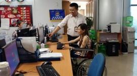 Giám đốc khuyết tật và những việc làm hữu ích cho cộng đồng