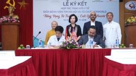 """Ký kết hợp tác trao đổi y tế giữa MD1 World và Bệnh viện tim Hà Nội – Chương trình """" Tiếng vọng từ trái tim"""""""