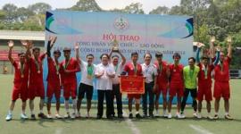 Hơn 250 CNVCLĐ dự Hội thao Tập đoàn Công nghiệp Cao su Việt Nam