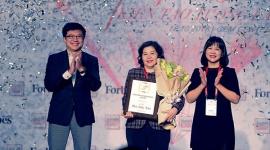 """Tổng Giám đốc Vinamilk Mai Kiều Liên là người phụ nữ duy nhất được Forbes Việt Nam vinh danh với giải thưởng """"Thành tựu trọn đời"""""""