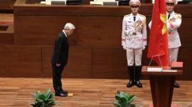 Chủ tịch nước Nguyễn Phú Trọng tuyên thệ nhậm chức