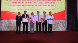 Bệnh viện Chỉnh hình và phục hồi chức năng TPHCM: Kỷ niệm 35 năm thành lập và đón nhận Huân chương Lao động hạng ba lần thứ 2