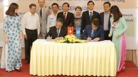"""Lễ ký kết dự án """"Thúc đẩy xây dựng khung khổ quan hệ lao động mới đảm bảo tôn trọng Tuyên bố của ILO về những nguyên tắc và quyền cơ bản trong lao động"""""""