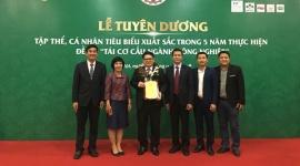 C.P. Việt Nam nhận giải thưởng Doanh nghiệp vì nhà nông