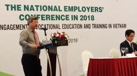 Thúc đẩy sự tham gia của doanh nghiệp, người sử dụng lao động trong giáo dục nghề nghiệp