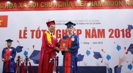 Trường Cao đẳng Kinh tế TP.HCM: Trao bằng tốt nghiệp cho 602 tân Cử nhân năm 2018