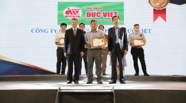 Thực phẩm Đức Việt vào top 100 Sản phẩm – Dịch vụ Tin và  Dùng Việt Nam 2018