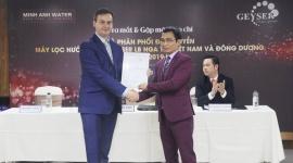 Ra mắt đại diện phân phối độc quyền máy lọc nước Nano Geyser tại Việt Nam và khu vực Đông Dương