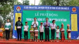 Đắk Lắk: Nhiều kết quả đáng ghi nhận trong Tháng hành động vì trẻ em năm 2018