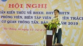Tập huấn kiến thức về BHXH, BHYT, BH thất nghiệp cho  các cơ quan thông tấn, báo chí