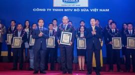 Công ty con của Vinamilk thuộc TOP các doanh nghiệp tăng trưởng nhanh nhất Việt Nam