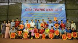 Giải tennis Công đoàn Bộ Lao động - Thương binh và Xã hội năm 2019 thành công tốt đẹp