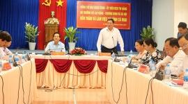 Bộ trưởng Đào Ngọc Dung thăm và làm việc tại tỉnh Cà Mau