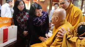 Phó Chủ tịch nước Đặng Thị Ngọc Thịnh thăm, chúc mừng Đại lễ Phật đản tỉnh Đồng Nai
