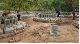 Hà Nội: Viếng Nghĩa trang liệt sĩ Tân Biên, tỉnh Tây Ninh
