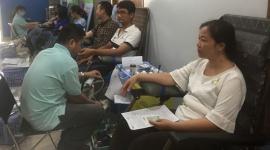 Hơn 700 tình nguyện viên tham gia hiến máu nhân đạo