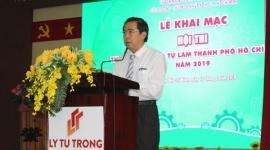 TP.HCM khai mạc Hội thi thiết bị đào tạo tự làm năm 2019