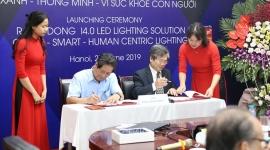 Công ty Cổ phần Bóng đèn phích nước Rạng Đông ra mắt giải pháp LED/I-4.0