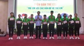 Trẻ em Hà Nội lên tiếng các vấn đề về trẻ em