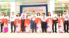 Tổng công ty Thuốc lá Việt Nam tổ chức Lễ khánh thành và gắn biển công trình xây dựng giai đoạn 2 Trường Tiểu học Phước Thành B