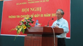 Đảng ủy Bộ Lao động - Thương binh và Xã hội thông tin chuyên đề về hợp tác ASEAN