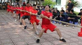 Công chức, người lao động ngành LĐTB&XH Hà Nội tranh tài tại hội thao 2019