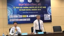 50 đơn vị có giải pháp xuất sắc nhất được trao Giải thưởng Chuyển đổi số Việt Nam 2019