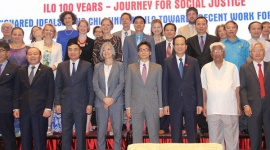 ILO, Vietnam celebrate their century-long path of fighting for social justice