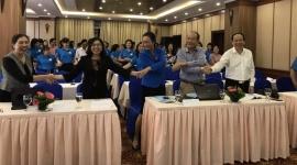 Công đoàn Y tế Việt Nam tập huấn về an toàn vệ sinh lao động, phòng chống bệnh nghề nghiệp, cách xử lý khi người lao động bị hành hung cho cán bộ y tế khu vực miền Bắc