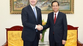 Minister Dao Ngoc Dung had a meeting with the Ambassador of the United States in Vietnam