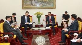Bộ trưởng Đào Ngọc Dung tiếp Đại sứ Hoa Kỳ tại Việt Nam