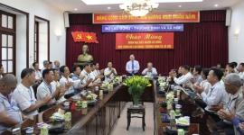 Thứ trưởng Lê Tấn Dũng tiếp đoàn đại biểu người có công tỉnh Kiên Giang