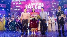 Nữ sinh viên năm nhất đăng quang ngôi vị quán quân Cuộc thi Tìm kiếm tài năng sinh viên Học viện Tài chính 2019