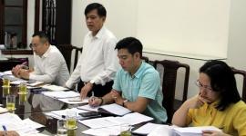 Tổ công tác của Bộ trưởng Đào Ngọc Dung làm việc với Vụ Bảo hiểm xã hội